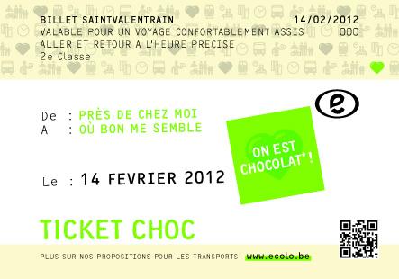 Saint Valentrain : on en a marre d'être chocolat!