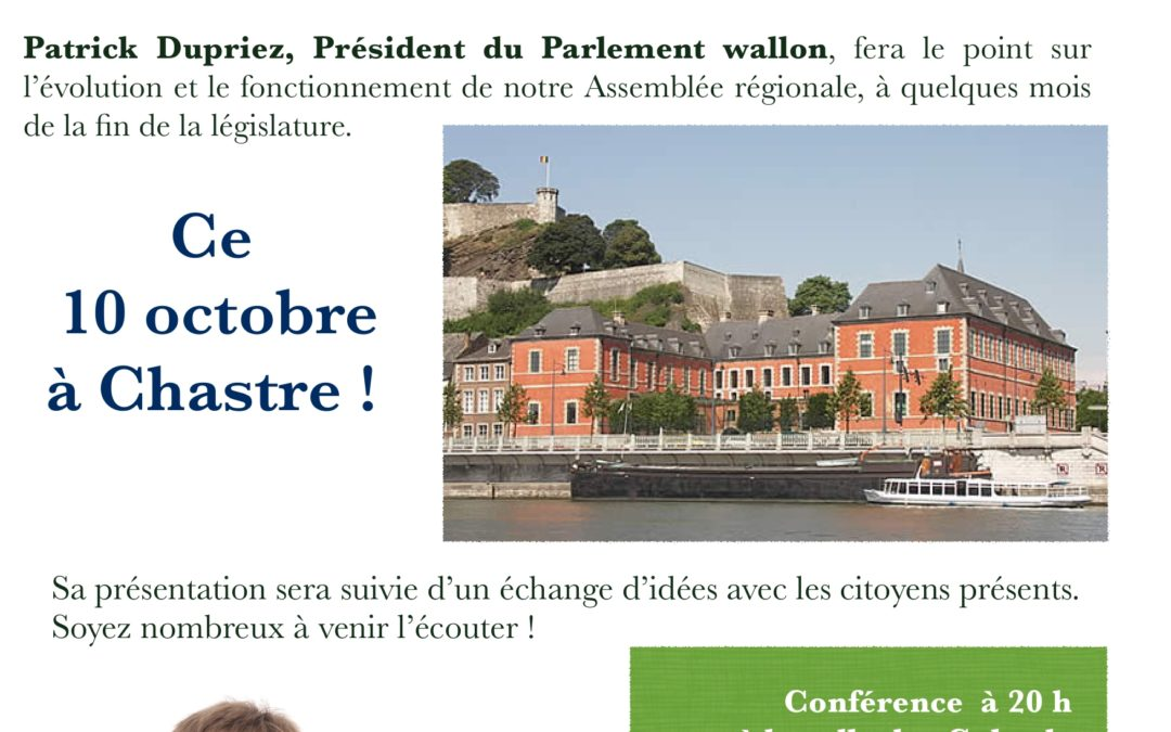 Mais que fait le Parlement wallon?