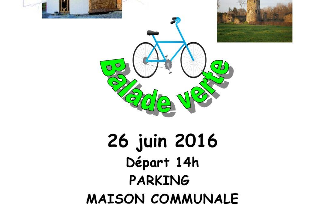 Tous à vélo le 26 juin…